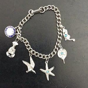 Vintage Cape Cod travel charm bracelet